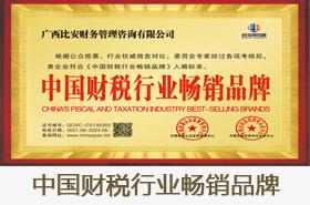 中国财税行业畅销品牌